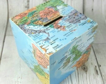 Travel & Map Decor