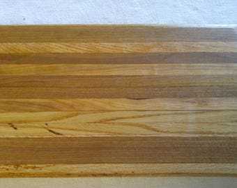 Oak and Maple Cutting Board