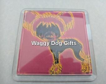 Chinese Crested Dog Coaster