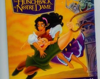 Vintage Disney Pinback - Hunchback of Notre Dame - 1990s Era Cartoon-Quasimodo