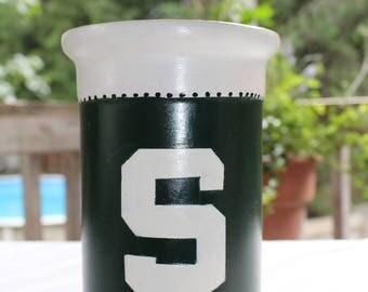 Michigan State Wine Cooler/Utensil Holder/Vase