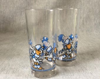 Vintage 1984 New Orleans World's Fair Drinking Tumblers, Set of 2, Seymore D Fair