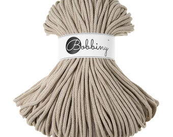 Bobbiny Rope – Beige (100m)