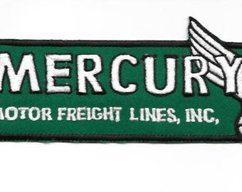 Vintage Trucking Minnessota Mercury Motor Freight Lines closed 1980 St Paul, MN green