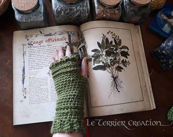 """Fingerless gloves crochet """"Lara"""""""