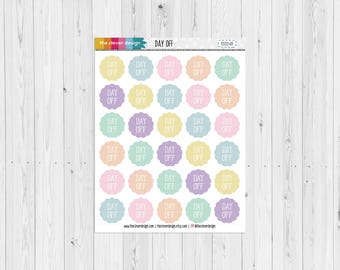 Day Off Planner Stickers (17222-01)