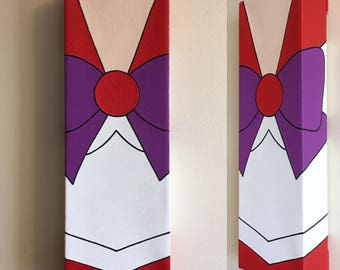 Sailor Mars Canvas Painting