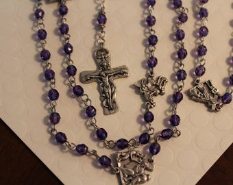 Stations of the Cross Meditation Rosary