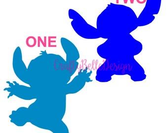 Disney Stitch Decal | Lilo and Stitch | Stitch Car Decal | Disney Car Decal | Yeti Decal | Tumbler Decal | Macbook Decal | Disney Decal