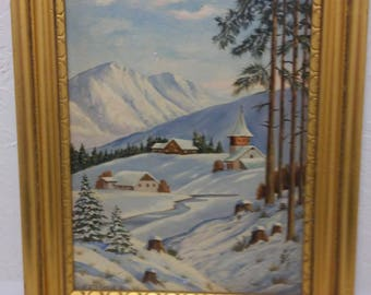 painting winter