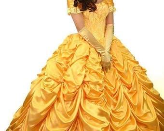 Belle Costume - Princess Disney - Belle dress adult