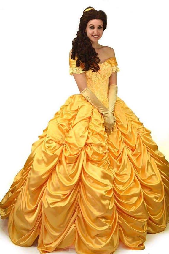 belle costume princess disney belle dress adult