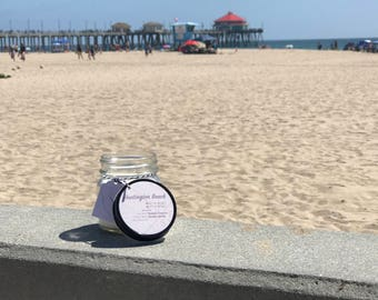 Huntington Beach || Scented Soy Candle || California || Coconut || Vanilla || Handmade || Handpoured || Mason Jar Candle