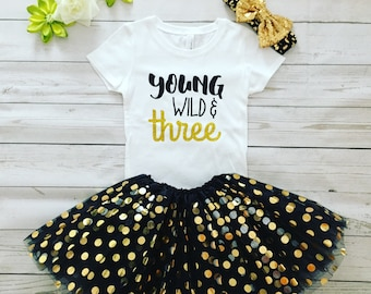 Third Birthday Girl outfit, Made to order Birthday outfit , 3 rd Birthday outfit