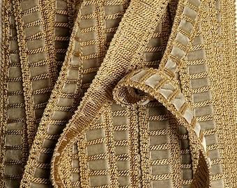 Gold trim, Green velvet ribbon, Trim, Ribbon, Upholstery trimSold by the yard