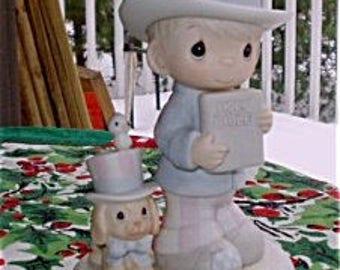 Precious Moments Figurine ~ God Bless America #102938