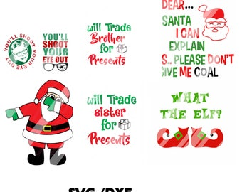 Christmas   Combo   Cricut ,Silhouette, Die Cut Machines. Svg/dfx