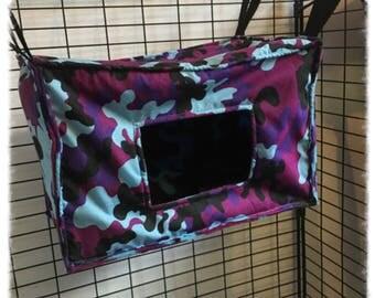 shoebox style camouflage hammocks for rats ferrets chinchilla gerbil degu chinchilla hammock   etsy  rh   etsy