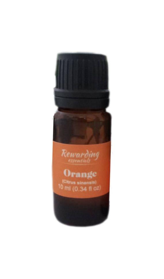 Orange Oil 100% Pure Therapeutic by Rewarding Essentials US Seller
