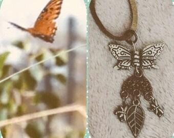 Butterfly Boho Necklace