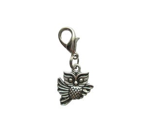 OWL pendant of charms charm bracelet Exchange trailer 3D trailers