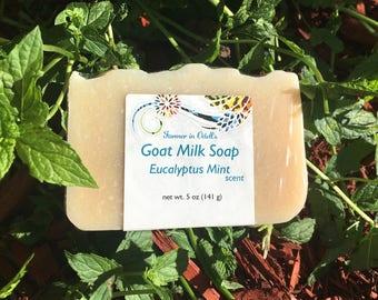 Goat Milk Soap - Eucalyptus Mint