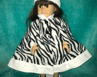 18 inch doll clothes,American Girl doll clothes,AG clothes,fashion doll clothes,18 inch doll cape