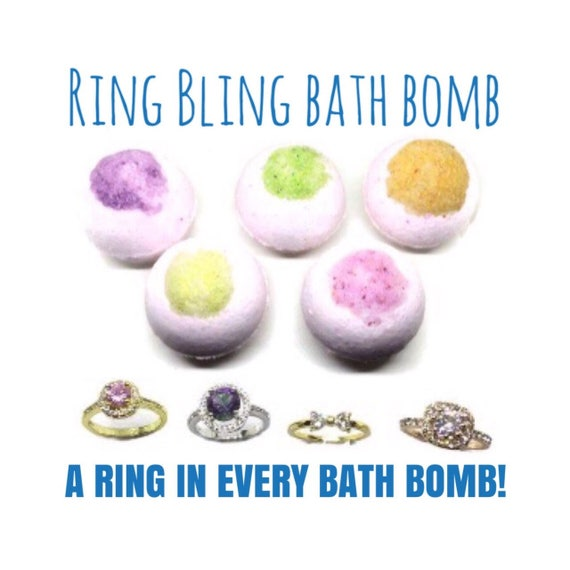 bath bombs with jewelry aromatherapy bling ring bath bombs jewelry bath bomb rings 3192