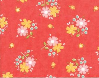 Flower Mill Floret Poppy by Corey Yoder of Moda Fabrics Fabric Yardage