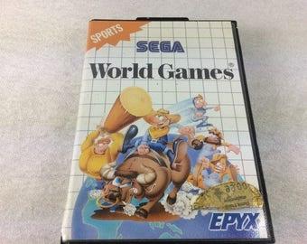 World Games Sega Master System - Master System Games