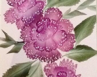 Painting acrylic canson A4 frame choice