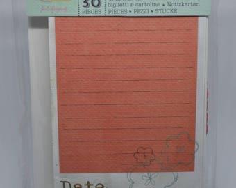 """Bloom- Journaling Notecard Set 3"""" x 5"""""""