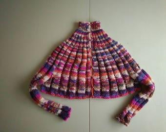 Poncho- cardigan