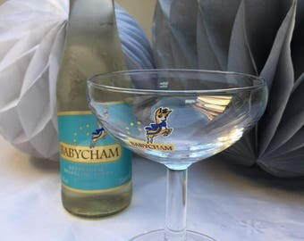 Oh So Retro Classic Vintage Babycham Glass
