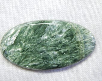 Fantastic Russian Seraphinite oval shape cabochone superb gemstone 48.0cts 44x22x4mm
