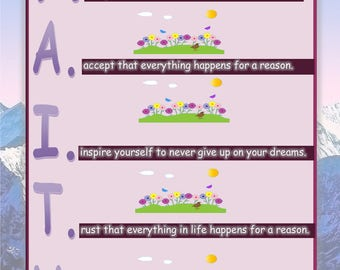 Faith Poster - Printable Inspirational Art Download