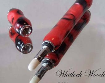 Handmade Red & Black Perfume Pen
