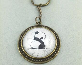 """Key fob """"Panda"""""""