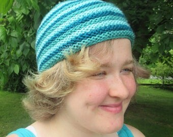 Blue Striped Hat
