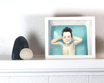 A Boy in the Bath