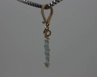 Simple Aquamarine in 14k Gold-Fill