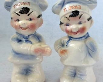 Vintage Tappan Chef Salt and Pepper Shakers