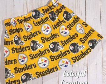 Pittsburgh steelers skirt, Pittsburgh sports team, Pittsburgh Steelers, black and gold, girls clothing, Pittsburgh