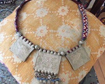 Afghani Prayer Box Necklace