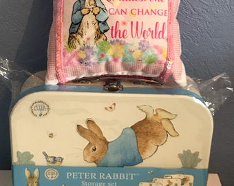 Beatrix potter Peter Rabbit family cushions