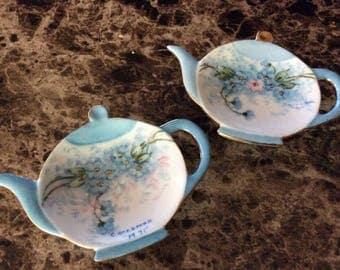 Vintage tea rests