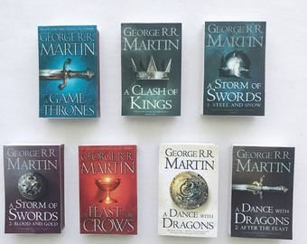 Game of Thrones Book Matches // George R. R. Martin // Stocking Stuffers