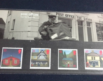 Royal mail stamps Sub Post Offices stamp presentation pack No279