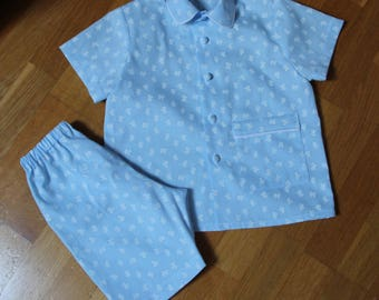 Summer T 2 year cotton pajamas