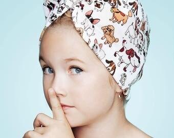 Kids Hair Turban, Kids Head Wrap, Kids Summer Head Wrap, Kids Hair Wrap, Kids Hair Drying Towel, Kids Hair Towel, Amici by Aglique